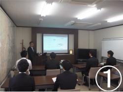 新卒者向け会社説明会②